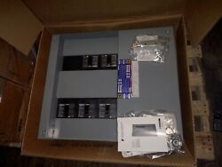 New In Box Square D Hcp I-line Panel 600s With Brakers Free Shipping
