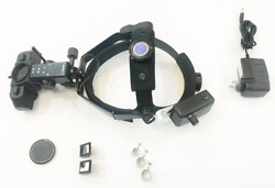 Indian Wireless Indirect Ophthalmoscope With 4 Filters 20d Lens And Accessories