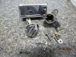 1970and039s Mopar Console Ash Tray And Lock And Misc Parts
