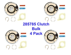 285785 Washer Machine Transmission Clutch For Whirlpool Kenmore 4 Pack Bulk $33.98