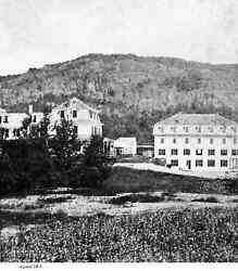 Late 1800's Mt. Kineo House Greenville Maine Built And Burnt In The Same Year