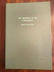 Rare 1947 Cherokees In The Confederacy, Civil War Native Americans, Indians Dale