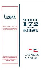 Cessna Skyhawk Airplane Information Ownerand039s Manual Poh - 172m - 1975