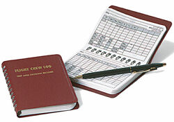 Crewgear Flight Crew Logbook - Airline And 135 Pilot Trip And Expense Record 2 Pack