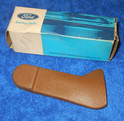 1971 1972 Monterey Custom Marquis Brougham Nos Lh Ginger Seat Belt Cover Boot