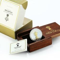 New Zealand 1 Dollar The Webb Ellis Cup Proof Gilded Silver Coin 2011