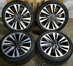 """19"""" Lincoln Mkz 2017 2018 Oem Factory Original Wheel 10129 And Tires 245/40 R19"""