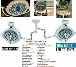 48+48led Ot Lights Surgical Operation Theater Ot Lamp Operating Double Satellite