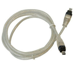 Firewire Cable / Cord 4-4 Pin Ieee 1394 For Jvc Vc-vdv206u Replacement