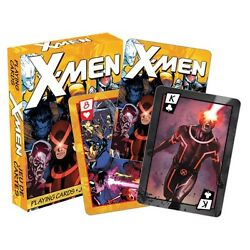 Nip Playing Cards X-men Marvel Comics Sealed Wolverine Cyclops Colossus Game