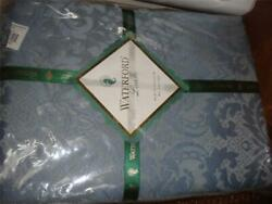 Waterford Westerly Tablecloth 66 X 105 French Blue Rayon Polyester New