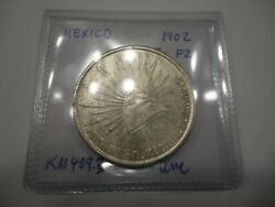 Mexico 1900 Zs Fz 8 Reales Km409.3 Uncirculated