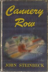 Cannery Row-john Steinbeck-1945-true 1st/1st Buff Cover-superior Copy