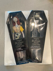 Nightmare Before Christmas Sally And Jack Coffin Doll- Applause