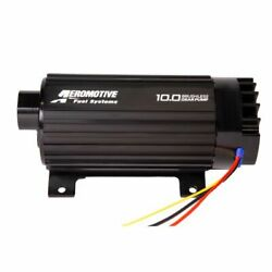 Aeromotive 11198 10gpm Brushless Spur Gear Fuel Pump With True Vsc In-line New