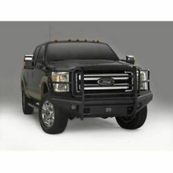 Fab Fours Fs11-q2560-1 Front Bumper W/tow Hooks Black For Ford F250-f350 New