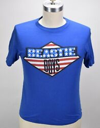 VINTAGE 80'S BEASTIE BOYS 1987 LICENSED TO ILL TOUR ROCK T SHIRT M MINT RARE!