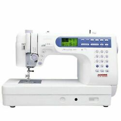 Janome 6500 Computerized Sewing  With Rolling Trolley #1