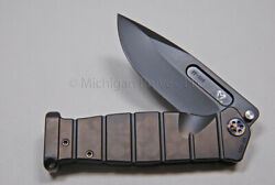 Medford Knife Usmc-ff W/ Cpm S35-vn , Pvd Handles And Titanium Hdw Flamed 151