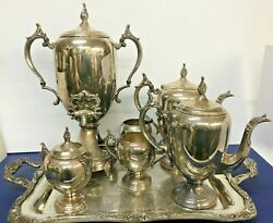 Set 7 Pieces F.b.rogers Silver Co. 1883 Vintage Never Used