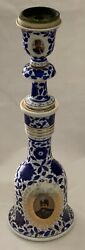 Beautiful 19th Century Fine Antique Qajar Hookah Huqqa Base And Top, Crafted I