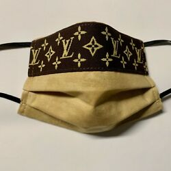Designer Name Reusable Cloth Face CoveringMask with Nose Wire & Filter Pocket