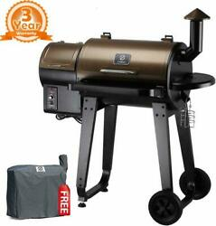 Z Grills Zpg-450a 2021 Upgrade Wood Pellet Grill And Smoker 8 In 1 Bbq Grill Cover