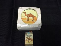 Camel Vintage Lighters- Set Of 2 One With Tin I-10917
