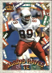 1996 Pacific Litho-cel Game Time Gt3 Jarius Hayes