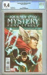 Journey Into Mystery 622 Cgc 9.4 White Pages 2011 2118955021 1st Ikol