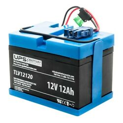 Peg Perego 12v John Deere Dual Force Tractor Compatible Replacement Battery