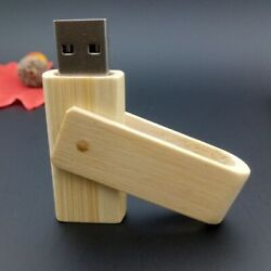 Bamboo Usb Drive 32gb Storage Home Office Eco-friendly And Sustainable Materials
