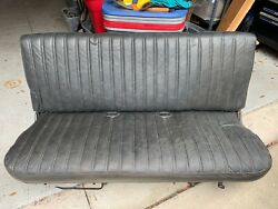 Oem 1987 Chevy Gmc Truck Bench Seat Vintage Very Nice 1980's