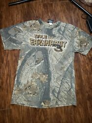 Dale Earnhardt Camouflage Number 3 Racing T-shirt/chase Authentics/size L