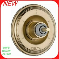 Delta Cassidy Multichoice 14 Series Valve Trim Without Handle Champagne Bz R9