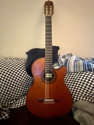 Morris Groovinand039 Pa-17g Solid Body Electric Nylon - Chet Atkins - Rare Mij