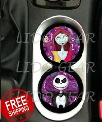 Jack And Sally Car Coasters Disney Inspired Coasters Nightmare Before Christmas