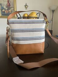 FOSSIL Maya Hobo Small Natural Crossbody Handbag ZB7623101 $109.00