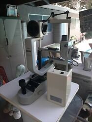 Carl Zeiss Slit Lamp 20sl Will Ship With Wood Base Sold As.is No Warranty