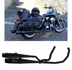 Mohican Arrow Full Exhaust Exhaust Black Harley Davidson Touring 2012 12