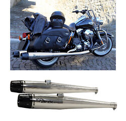 Mohican Arrow Full Exhaust Exhaust Lucido Harley Davidson Touring 2014 14