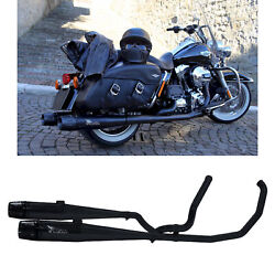 Mohican Arrow Full Exhaust Exhaust Black Harley Davidson Touring 2009 09
