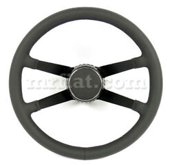 For Porsche 911 Rsr Racing Style Complete 4 Spokes Steering Wheel 1974-89 New
