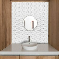Self Adhesive Panels Wall Stickers Home Kitchen Waterproof Mosaic Tile Stickers
