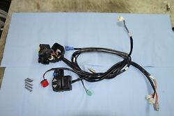 Kawasaki 300x Steering Switches Stop Start Damaged Sold As Is No Reserve.