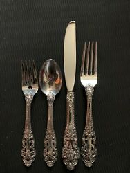 Gorham Crown Baroque 4-piece Sterling Silver Place Setting