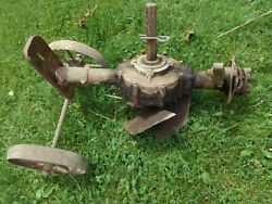 Vintage Gravely Walk Behind Lawn Tractor Rotary Plow 5309 Project