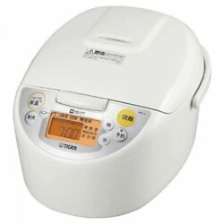 Tiger Jkd-v100-w Induction Heating Rice Cooker 1.0l White Fast Shipping Japan