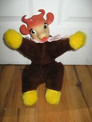 Vintage 1960s Bordenandrsquos Elsie The Cow Stuffed Promotional Doll Advertising Rare