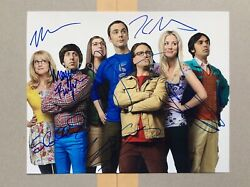 The Big Bang Theory Cast Signed Photograph X7